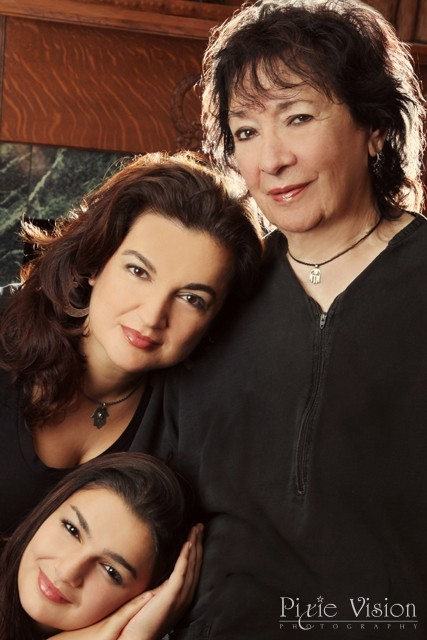 Three generations of the Salimpour legacy - Jamila Salimpour, Suhaila Salimpour, and Isabella Salimpour