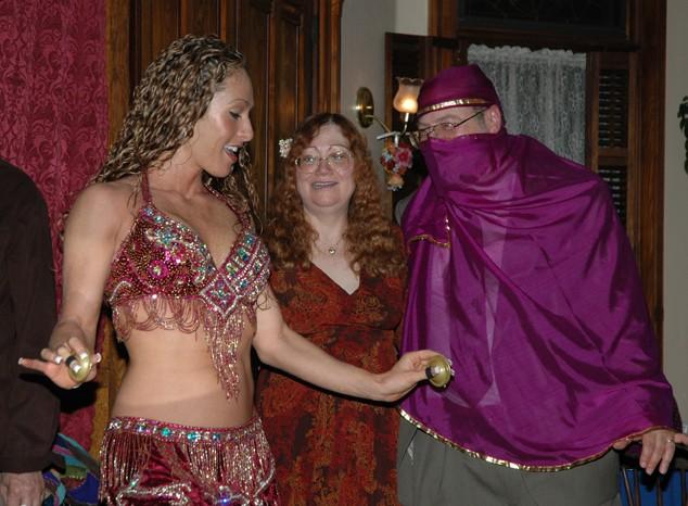 Rachel Dancing for Couple